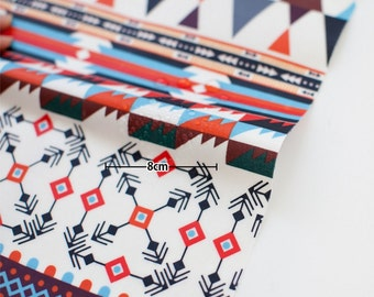 Laminated Cotton Fabric Aztec By The Yard