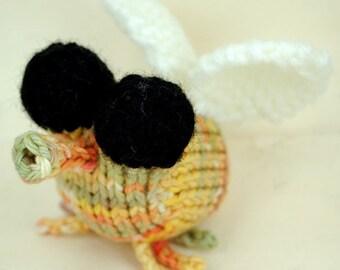Gnit Gnat Amigurumi Plush Toy Knitting Pattern PDF Digital Download