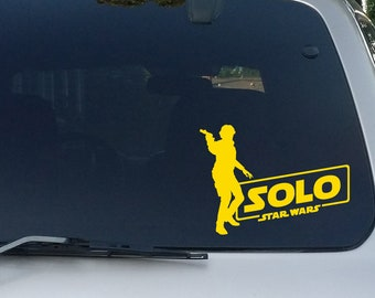 Solo Logo w/ Figure Decal