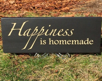 Custom hand-painted wood sign with your favorite quote or saying.