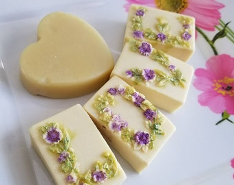 Mother's Day set Lavender and Lemongrass Soaps and Lotion Bar