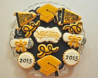 Custom Graduation Cookies
