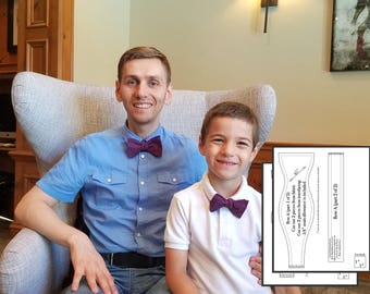 Father son 2 bow ties pdf Father son matching Father son set match Adult bowtie pdf Bow tie 4t pdf Bow tie 6 t pdf Adjust bow tie pdf