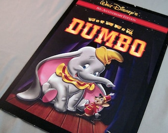 Dumbo Notebook or Planner - Recycled Artwork