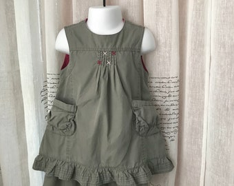 Piper Posie Jumper Dress 0 3 Mos
