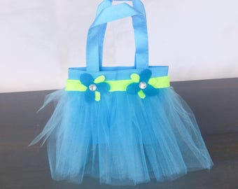 Princess Poppy Handbags- Tutu Tote Bags- Trolls Party Favor Bags- Poppy Costume- Trolls Birthday- Easter Bag- Princess Poppy Purse