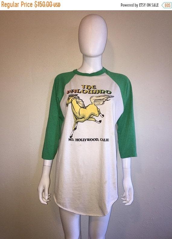 Palomino The baseball Off 70s ringer Closing 50 Club RARE XL Hollywood Rare shirt SALE 80s music t tee California North 1d0ZfqdYw
