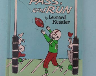 Kick, Pass, and Run by Leonard Kessler 1966 Sports I Can Read Book Free Shipping