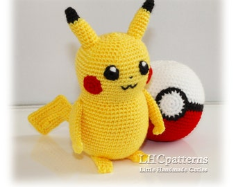 Amigurumi Pokemon Patterns Free : Crochet pokemon etsy
