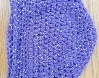 Sparkle Purple Beanie