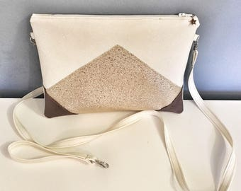 """Evening bag / wedding """"glitter"""" / / pouch / for her / Christmas gift / birthday gift"""