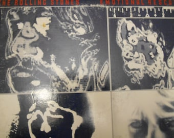 The Rolling Stones - Emotional Rescue- vinyl record