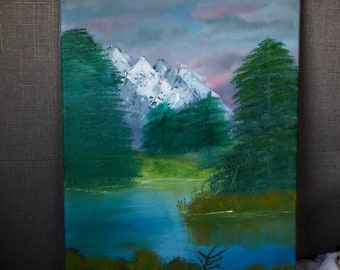 Tranquil Natureside Painting