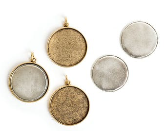 Jewelry Kit for Embroidery Grande Circle 3 Pack - Gold