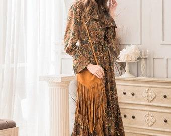 Maxi Dress in Floral Print