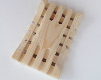 Wooden Soap Dish - Craftsman