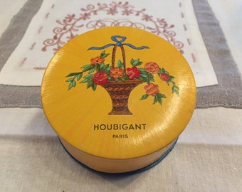 Box powder HOUBIGANT Paris