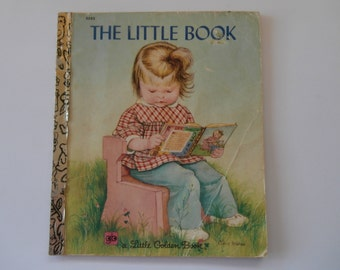 Vintage (1970s) children's book, 'The Little Book', A Little Golden Book by Sherl Horvath, illustrated by Eloise Wilkin