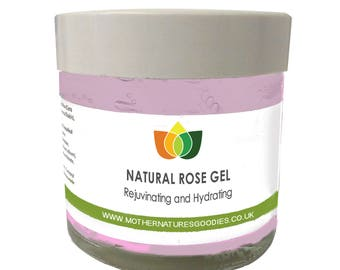 Rose Gel Rejuvenating Hydrating Aromatherapy Multiple Sizes