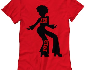Delta Sigma Theta That Girl Women's Fitted T-shirt