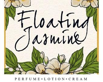 Floating Jasmine | May's Limited Edition Scent of the Month | Demure Jasmine Fragrances
