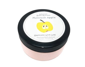 Body Butter | MCINTOSH APPLE | Whipped Shea Butter | body lotion | Dry Skin | Fall Lotion | Gifts for Her | Fall Gifts | Apple Lotion