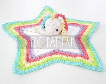 PDF PATTERN - EN - Crochet pattern for amigurumi - Marcia The Unicorn
