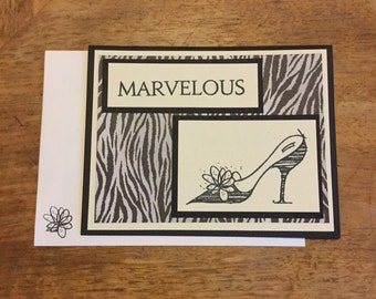 Marvelous Shoe Card