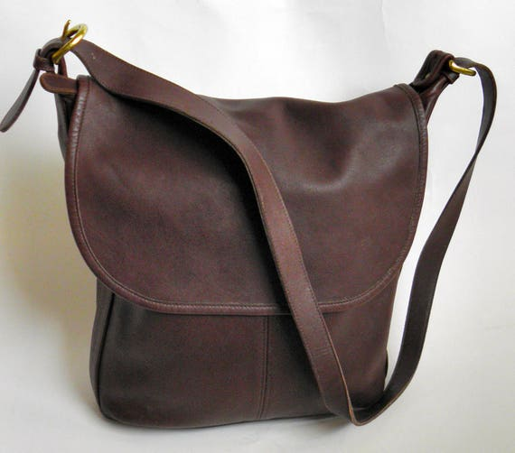 Chocolate Coach Leatherware Purse