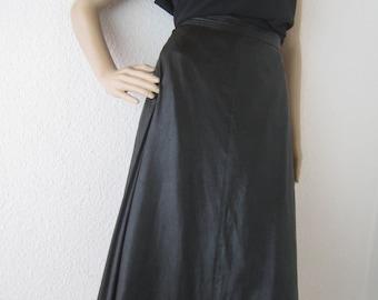 Vintage 70s high waist A-line skirt rock cris Devi S