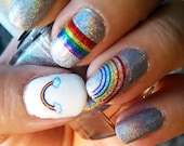OMG RAINBOWS! - Water Sli...