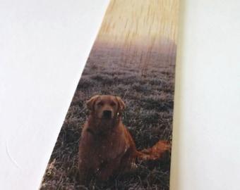 Wooden Bookmark - Wood Bookmark - Dog bookmark - Retriever - Golden Retriever - Book lover gift - Labrador - Unique bookmark - Handmade