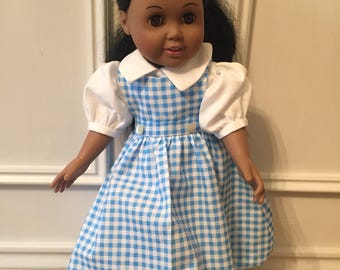 Dorothy dress for 18 inch doll