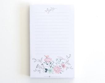 TO-DO, List Pad, Checklist, List Notepad, Memo Notepad, Teacher Appreciation, Notepad gift, School Supplies, To-do List, Craft Gift, Spring