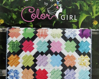 Jumping Jacks Quilt Pattern - Color Girl Quilts - Sharon McConnell - CG1501