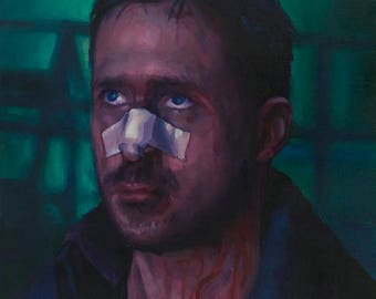 Blade Runner 2049 (K), Oil Painting