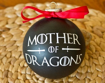 """Game of Thrones Ornament - 4"""" Mother of Dragons"""