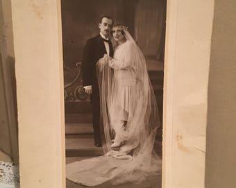 French 1930,s Wedding Photo