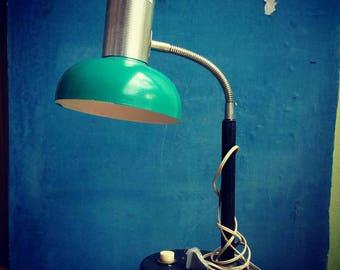 Vintage table lamp.  Table lighting. Desk lamp
