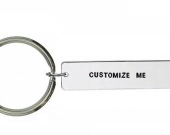small keyring- Custom Keyring- Personalised Keyring- Custom Keychain- Personalized Keychain- Customisable Keyring