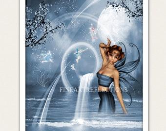 Tara Fantasy Wall Art Print