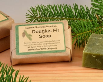 Douglas Fir Soap - Pseudotsuga manziesii – Pacific Northwest – Woodsy Forest Aroma