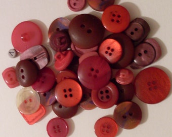 Twenty Five Assorted Buttons