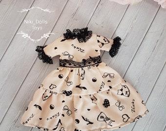 Blythe dress Blythe outfit  Blythe clothes Accessories for Blythe