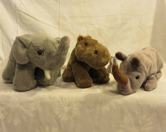 Funny Catnip Toy, Rhino Catnip, Elephant Catnip toy, Cat Lover Gift, toys are not filled with catnip until the DAY you order!