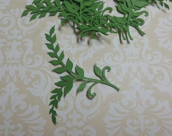 Die Cut Leaf Embellishments.  #MT-29