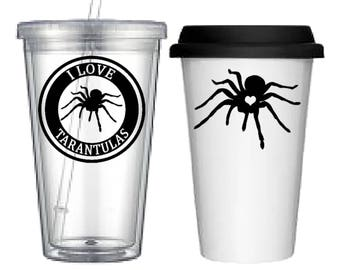 Cup:Tarantula(4 designs to choose from!)
