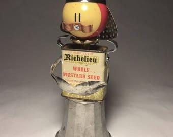 Car-tin-al Richelieu • Assemblage Art Robot Sculpture