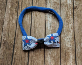 Newborn 4th of July headband -newborn photography - hair clip - headband - hair bow - infant