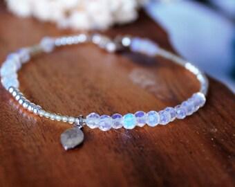 Opalite Bracelet, Layer Stacking Bracelet, Gemstones